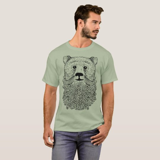 Bearded Bear Product T-Shirt