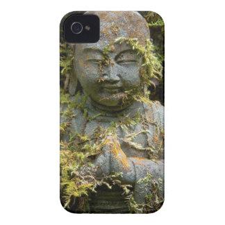 Bearded Buddha Statue Garden Nature Photography iPhone 4 Case