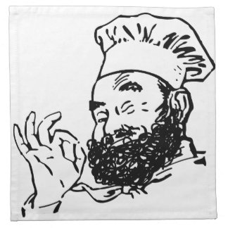 Bearded Chef approved Napkin