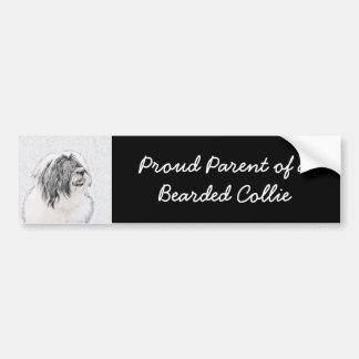Bearded Collie Bumper Sticker
