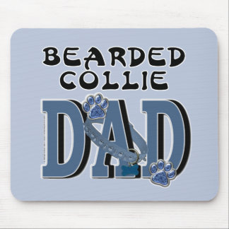 Bearded Collie DAD Mouse Pads