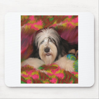 Bearded Collie Mouse Pad