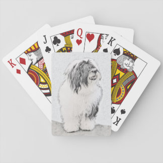 Bearded Collie Playing Cards