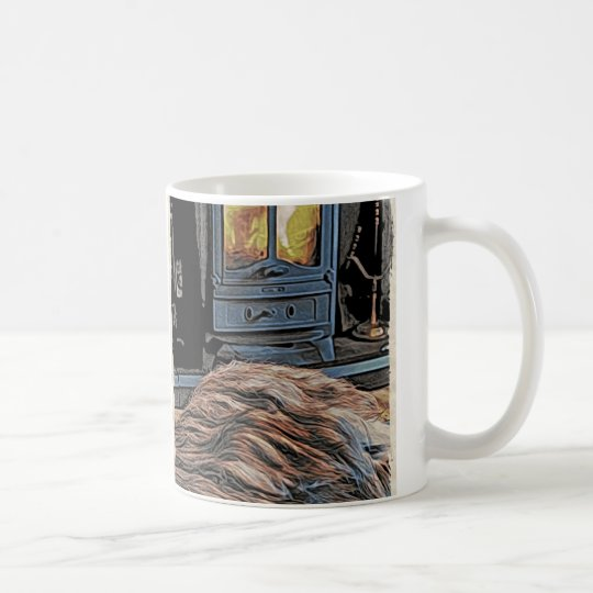Bearded Collie Rug Mug