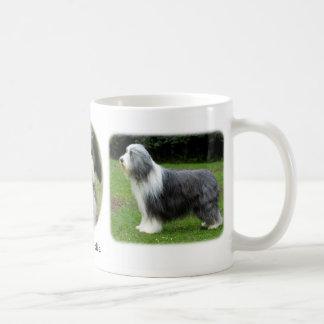 Bearded Collie x 3 Coffee Mug