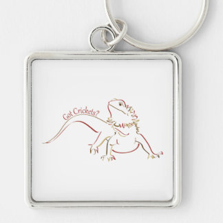 Bearded Dragon2 Key Ring