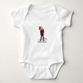 Bearded Dragon Baby Bodysuit