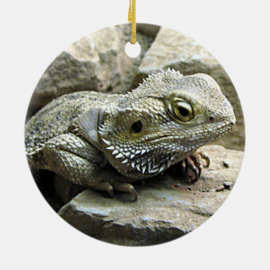 Bearded Dragon Christmas Ornament