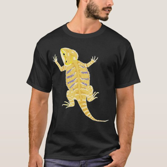 Bearded Dragon (dark bkg colours) shirt