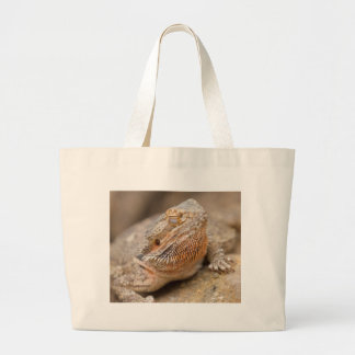 bearded dragon large tote bag