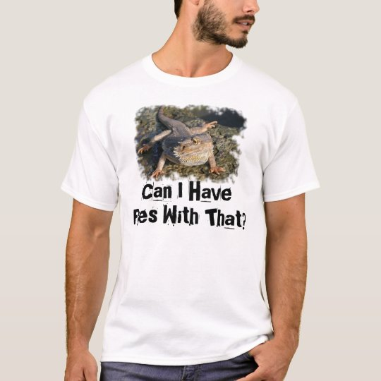 Bearded Dragon Lizard T-Shirt
