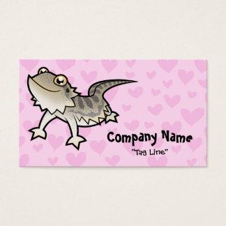 Bearded Dragon / Rankin Dragon Love Business Card