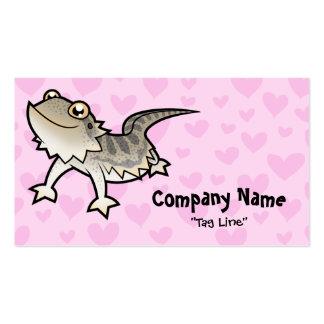 Bearded Dragon / Rankin Dragon Love Business Card Templates