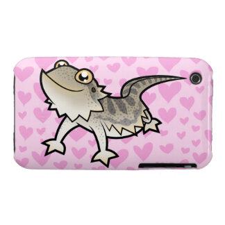 Bearded Dragon Rankin Dragon Love Case-Mate iPhone 3 Cases