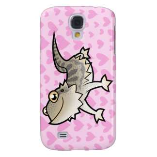 Bearded Dragon / Rankin Dragon Love Galaxy S4 Case