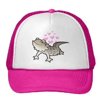 Bearded Dragon / Rankin Dragon Love Trucker Hats