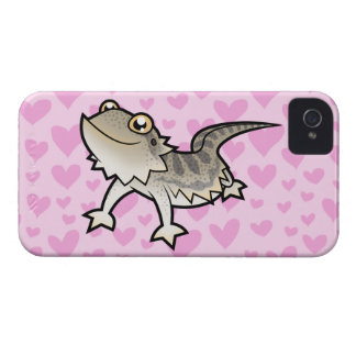 Bearded Dragon / Rankin Dragon Love iPhone 4 Covers