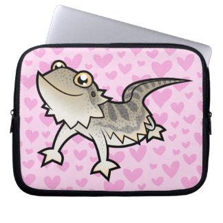 Bearded Dragon / Rankin Dragon Love Laptop Sleeve