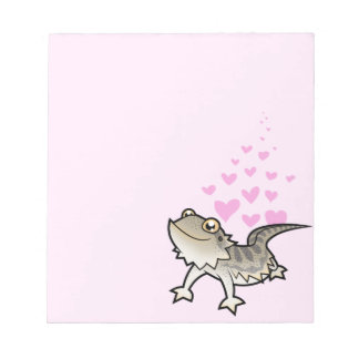 Bearded Dragon / Rankin Dragon Love Notepad