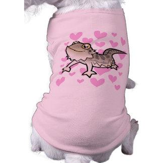 Bearded Dragon / Rankin Dragon Love Sleeveless Dog Shirt