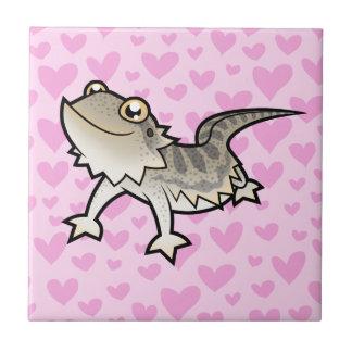 Bearded Dragon / Rankin Dragon Love Tile