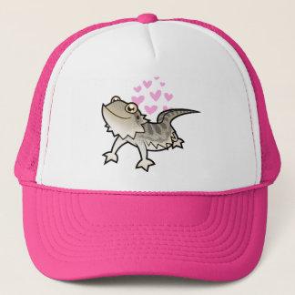 Bearded Dragon / Rankin Dragon Love Trucker Hat