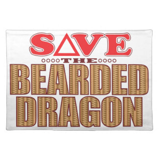 Bearded Dragon Save Placemat