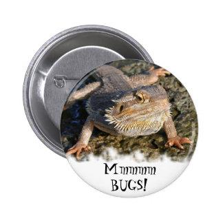 Bearded Dragon Series 6 Cm Round Badge