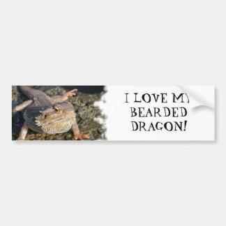 Bearded Dragon Series Bumper Sticker