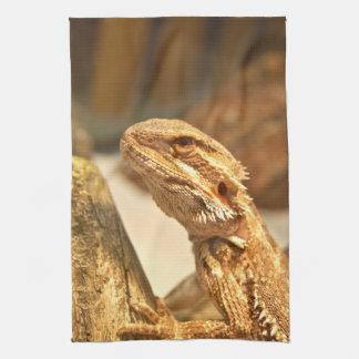 Bearded Dragon Tea Towel