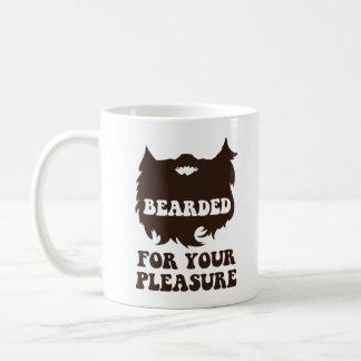Bearded For Your Pleasure Coffee Mug