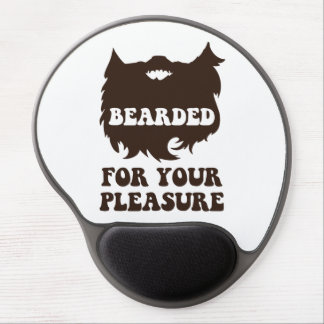 Bearded For Your Pleasure Gel Mouse Mats