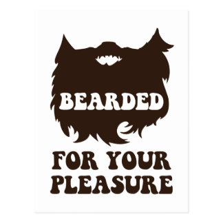 Bearded For Your Pleasure Postcards