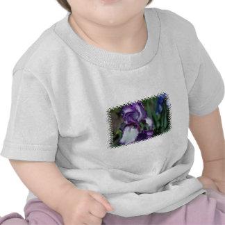 Bearded Iris Flower Baby T-Shirt