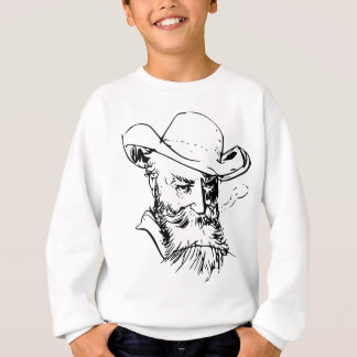 Bearded man sweatshirt