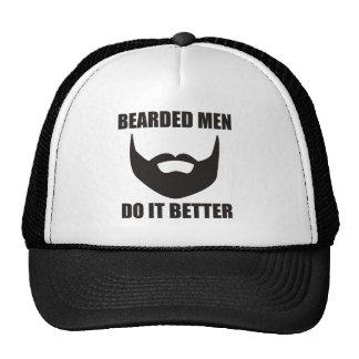 BEARDED MEN DO IT BETTER! CAP