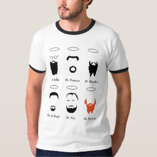 Bearded Saints t shirt