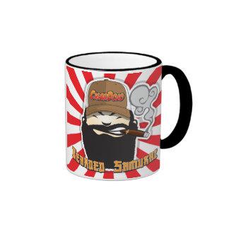 Bearded Samurai Mug Ringer Mug