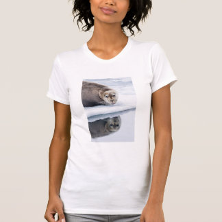 Bearded seal on ice, Norway T-Shirt