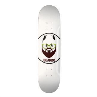Beardo panda 18.1 cm old school skateboard deck