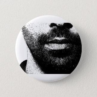 beards 6 cm round badge