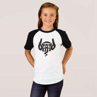 beards girl 3/4 T-Shirt