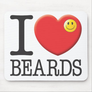Beards Mouse Mat