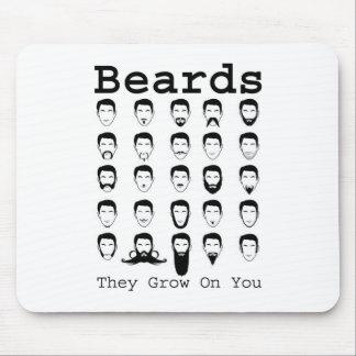 Beards Mouse Pad