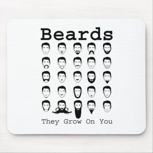 Beards Mousepads