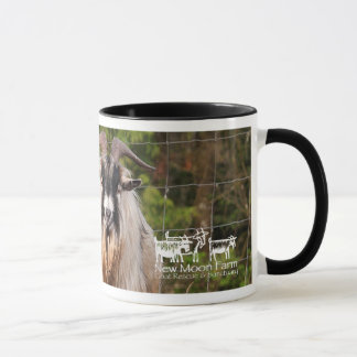 """Beards"" New Moon Farm Goat Mug"