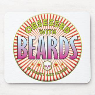 Beards Obsessed R Mouse Mats