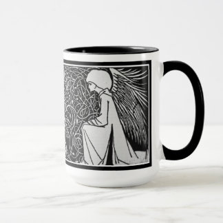 Beardsley Angels Art Nouveau Mug