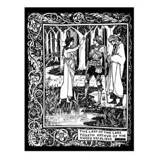 Beardsley Excalibur Post Card