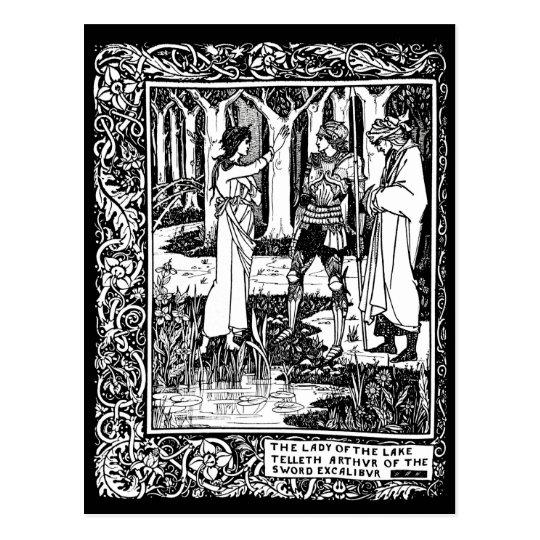 Beardsley Excalibur Post Card